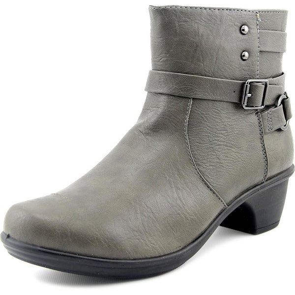 Easy Street Carson Women W Round Toe Synthetic Ankle Boot