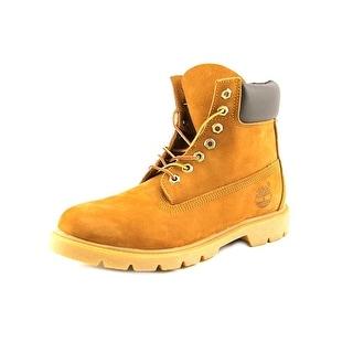 Timberland 6-inch Basic Waterproof Men Round Toe Leather Tan Boot