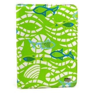 JAVOedge Fish Book Case for Amazon Kindle Touch - Green