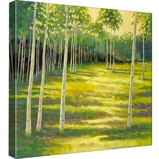 "PTM Images 9-97773  PTM Canvas Collection 12"" x 12"" - ""Sunlit Meadow"" Giclee Forests Art Print on Canvas"