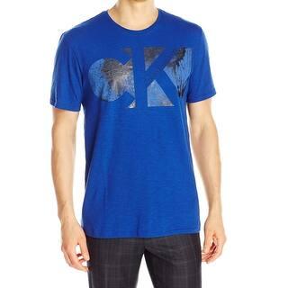 Calvin Klein NEW Sodalite Blue Mens Size XL Crewneck Graphic Tee T-Shirt|https://ak1.ostkcdn.com/images/products/is/images/direct/d1e7de8600a0bb000d5a7c89cd9f56276eededa5/Calvin-Klein-NEW-Sodalite-Blue-Mens-Size-XL-Crewneck-Graphic-Tee-T-Shirt.jpg?impolicy=medium