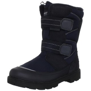 Pediped Boys Cruz Waterproof Leather Snow Boots