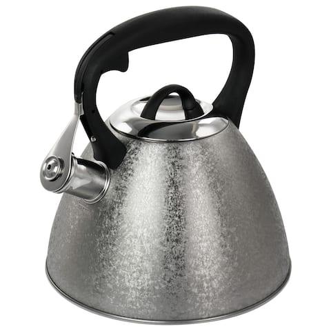 Mr. Coffee 2.5 Quart Stainless Steel Whistling Tea Kettle