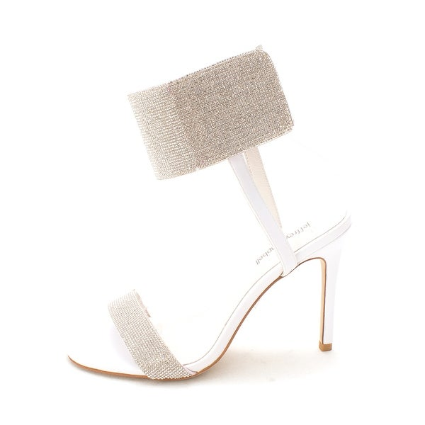 Jeffrey Campbell Womens Frost Open Toe Special Occasion Ankle Strap Sandals - 9