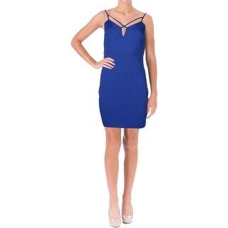 Guess Womens Clubwear Dress Strappy Bodycon
