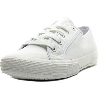 Easy Spirit Sneaker Women Round Toe Canvas White Sneakers