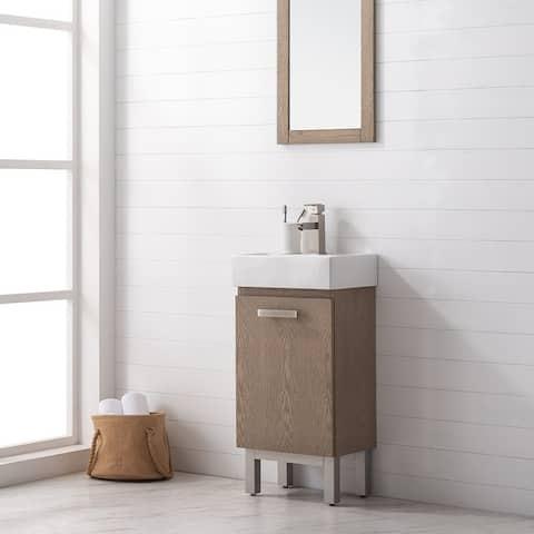 """Stella 16.5"""" Single Sink Vanity"""