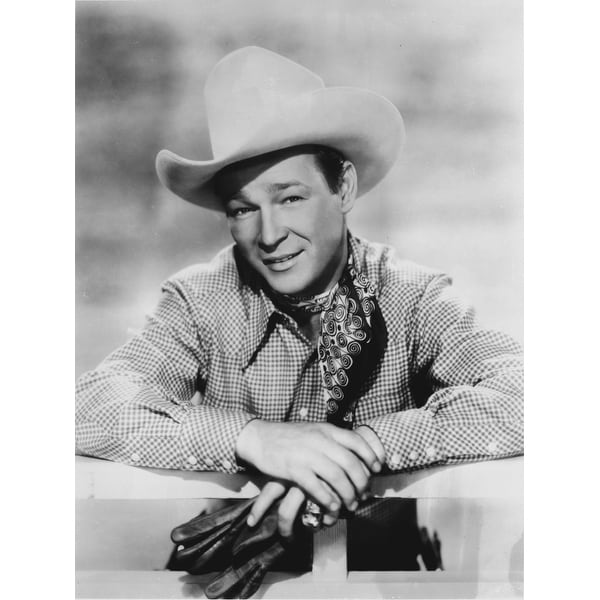 Shop Roy Rogers in a cowboy hat Photo Print - Free Shipping On ... facf56d61b6