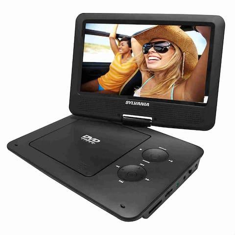 Sylvania SDVD9020B-BLACK Sylvania SDVD9020B Portable DVD Player - 9 Display - 640 x 234 - Black - DVD+RW, DVD-RW, CD-RW -