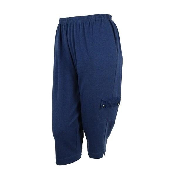 Shop Alfred Dunner Women S Cargo Capri Pants Free