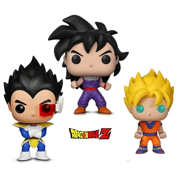 44f5f93790c Funko POP Animation Dragonball Z - Super Saiyan Goku, Gohan (Training  Outfit) &. Click to Zoom
