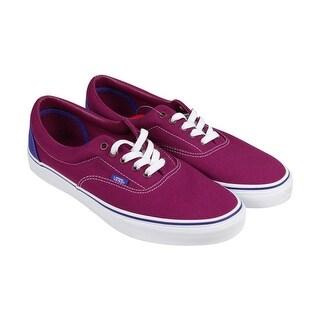 Vans Era Womens Purple Canvas Lace Up Sneakers Shoes