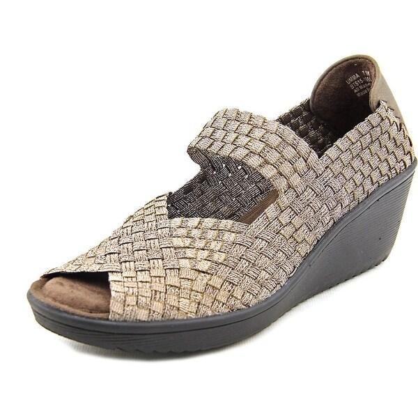 Baretraps Umma Open Toe Canvas Wedge Sandal