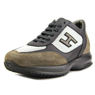 Hogan New Interactive Uomo H Flock Suede Fashion Sneakers