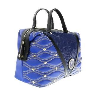 Versace EE1VOBBK3 EMAF Blue  Satchel - 13-8-7
