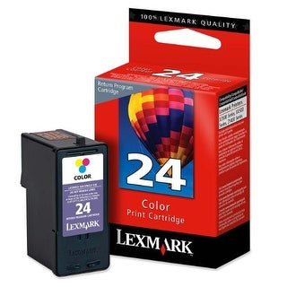 Lexmark L41232M Lexmark #24 Color Return Program Print factory (OEM) Cartridge 18C1524