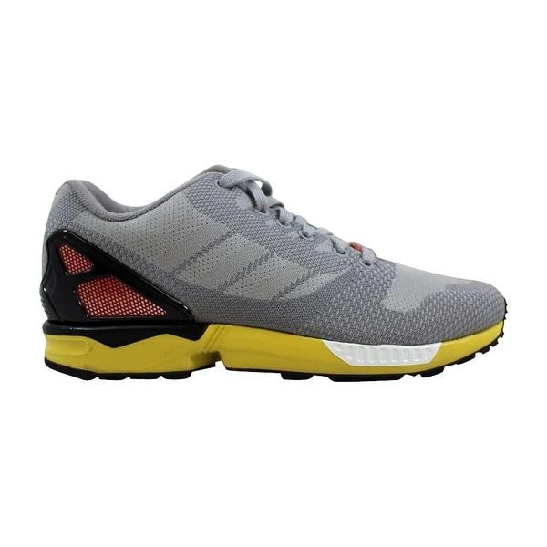 d4a43d99b Shop Adidas ZX Flux Weave Light Onix Light Onix AF6346 Men s - Free ...