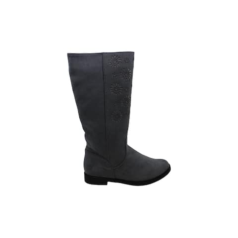 Kenneth Cole New York Womens Kennedy Chop Closed Toe Knee High Fashion Boots
