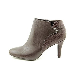 Alfani Gabry Leather Ankle Booties