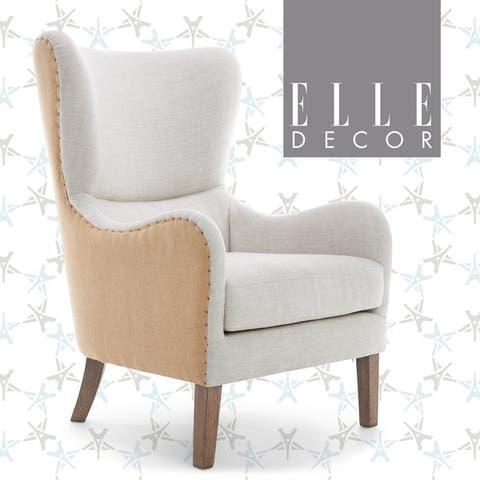 Elle Decor Wingback Chair