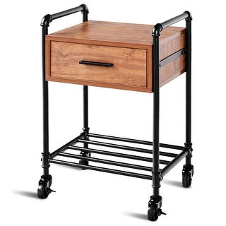 Link to Costway 2-Tier End Coffee Table Nightstand Sofa Side Living Room Furni Similar Items in Living Room Furniture