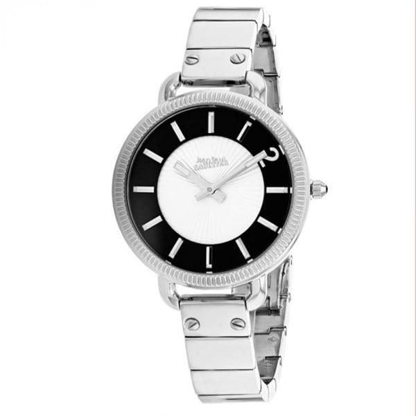 Jean Paul Gaultier Women's 8504301 'Index' Stainless Steel Watch - Silver. Opens flyout.