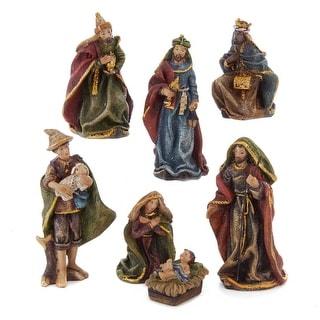 Link to Kurt Adler 3.5-Inch Resin Nativity, 7-Piece Set Similar Items in Christmas Decorations