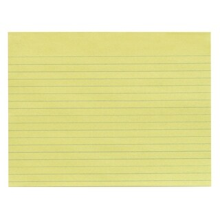 School Smart Newsprint Paper with No Margin, 10-1/2 x 8 Inches, Yellow, 500 Sheets