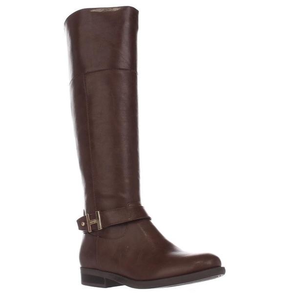 Tommy Hilfiger Shahar Knee High Boots, Medium Natural