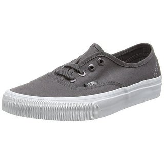 Vans Unisex Authentic Multi Eyelets Skate Shoes-Perf/Gray - perf/gray