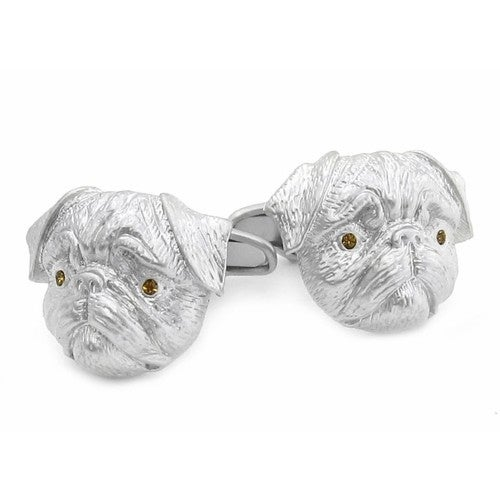 Pug Dog Animal Cufflinks