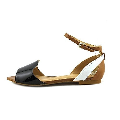 Tahari Womens francie Peep Toe Casual Ankle Strap Sandals - 7.5