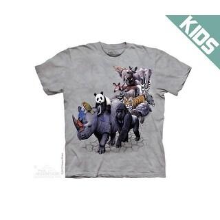 The Mountain Animal Parade Rhino Gorilla Panda Tee T-shirt Child