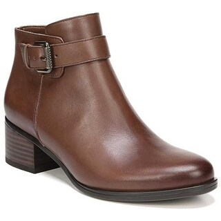 Naturalizer Women's Dora Bootie Coffee Bean Leather