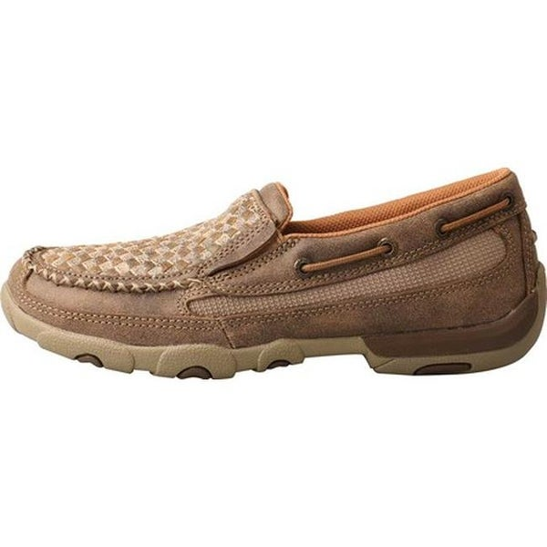 Twisted X Womens Boat Shoe Driving Moc