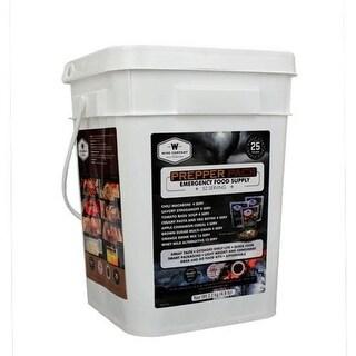 Wise Foods 01-152 Prepper Pack Emergency Meal Kit Bucket
