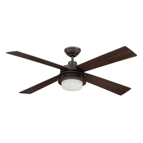 "Ellington Fans UBR524 Urban Breeze 52"" 4 Blade Indoor Ceiling Fan - Blades, Light Kit and Remote Control Included"
