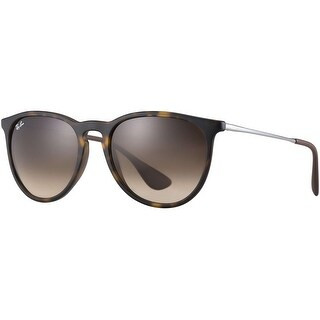 Ray-Ban RB4171 54mm Erika Wayfareres Sunglasses (Tortoise Gunmetal/Brown Gradient Lens)