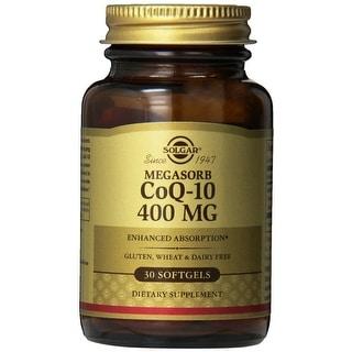 Solgar Megasorb Coq-10 400 mg Softgels 60