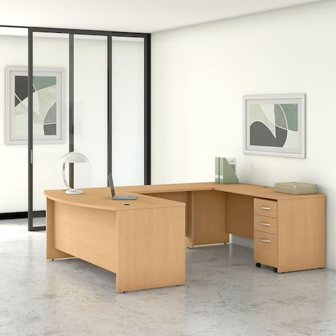 Studio C 72W U Shaped Desk with Drawers by Bush Business Furniture