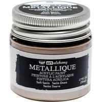 Finnabair Art Alchemy Acrylic Paint 1.7 Fluid Ounces-Metallique Soft Satin