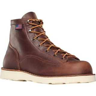 "Danner Men's Bull Run 6"" Cristy Brown Full Grain Leather"
