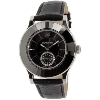 Link to Swarovski Women's 1181759 'Octea Classica' Black Leather Watch Similar Items in Women's Watches
