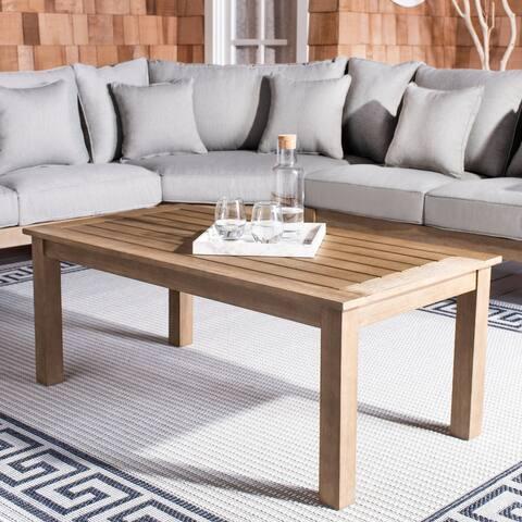 "Safavieh Couture Santa Cruz Patio Coffee Table - 48.8"" x 24.6"" x 18.8"""
