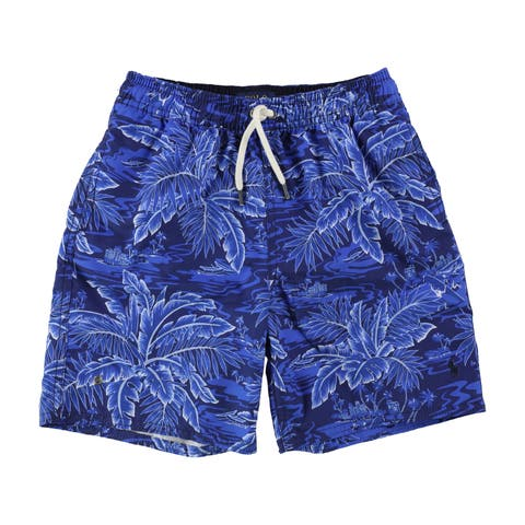 Ralph Lauren Boys Printed Swim Bottom Trunks - 6