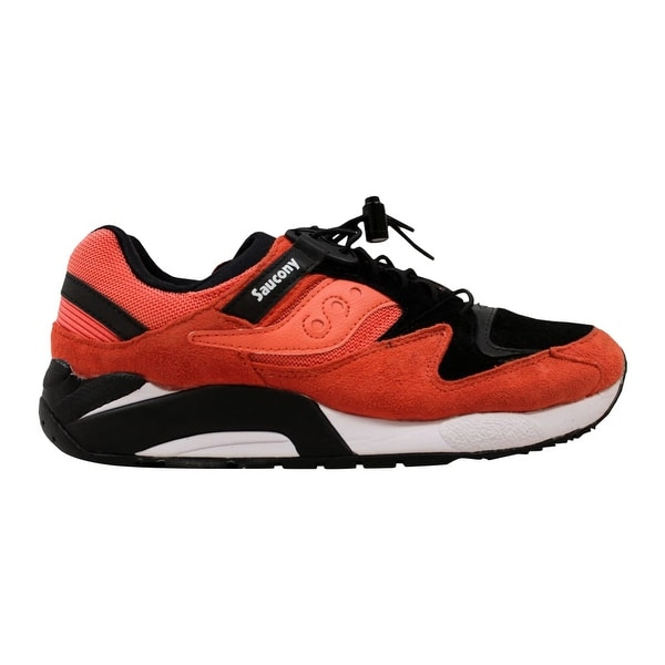7616b887a665 Shop Saucony Grid 9000 Coral Black Bungee S70196-2 Men s - Free ...