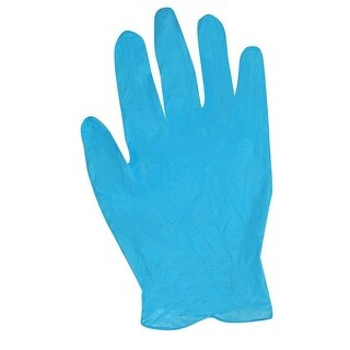 Trimaco 01815 SuperTuff Nitrile Gloves, Blue, 12 Per Pack