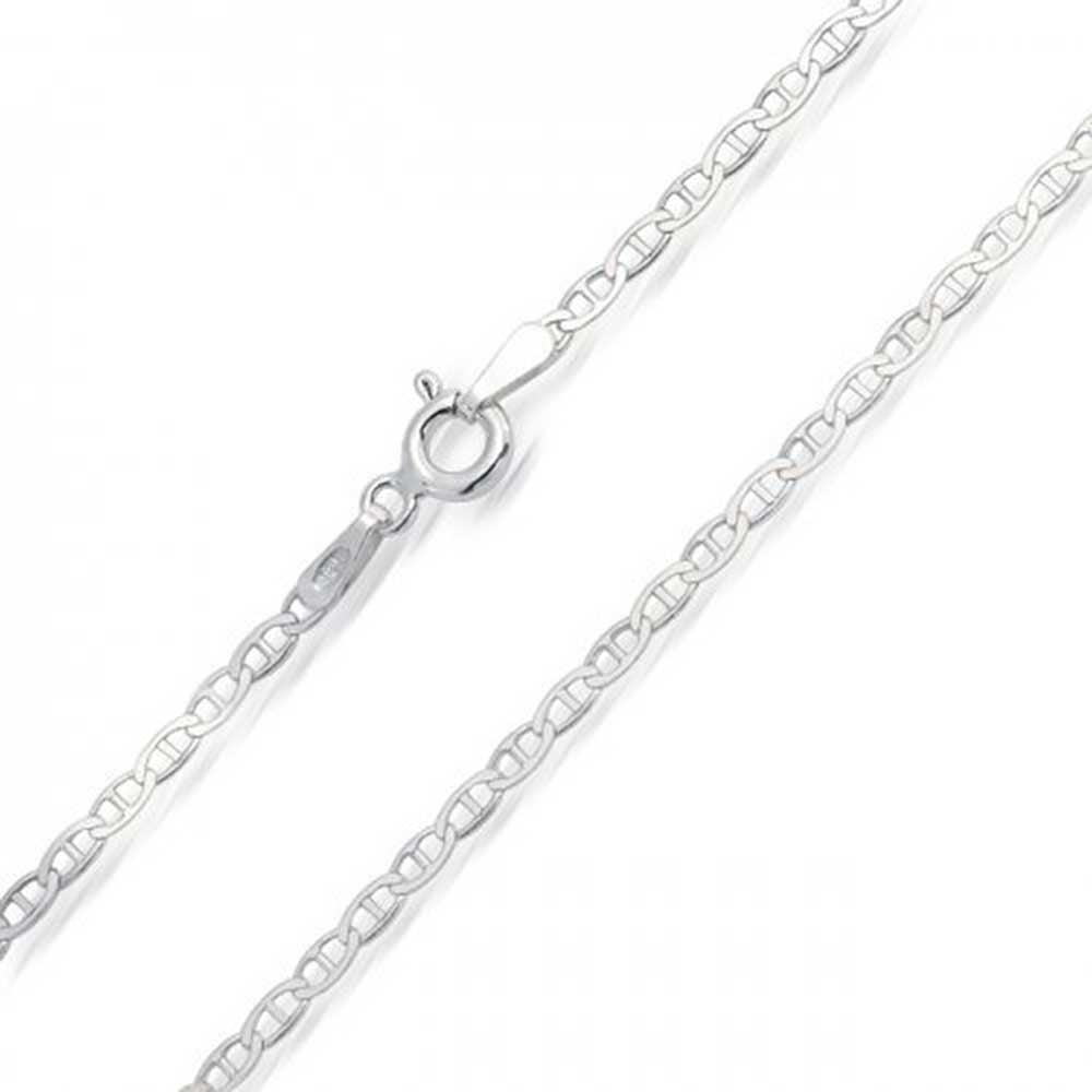 High Polished Sterling Silver Singapore Style 035 Chain 2mm