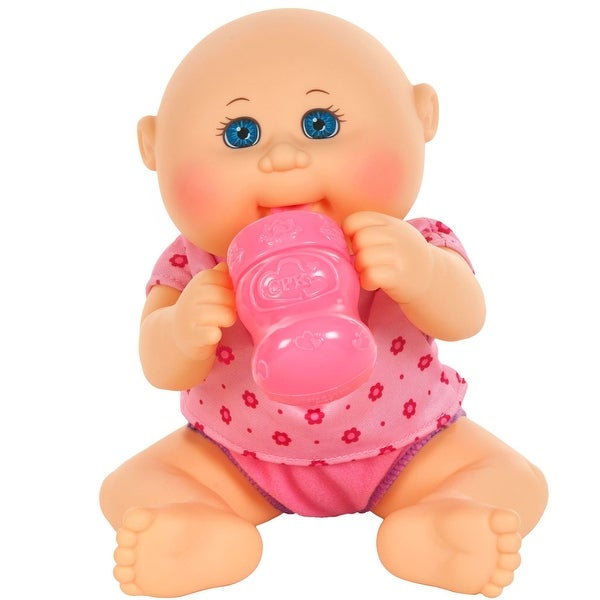 "Cabbage Patch Kids 11"" Drink N' Wet Newborn: Blue Eyes, Caucasian Girl - multi"