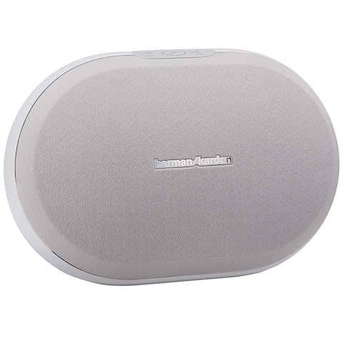 Harman Kardon Omni 20 Plus Wireless HD Stereo Speaker - White - 14.3 x 7.8 x 8.7
